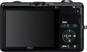 Nikon's Coolpix AW100 digital camera. Photo provided by Nikon Inc. Click for a bigger picture!
