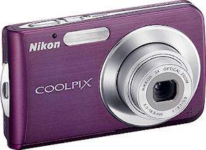 Nikon's Coolpix S210 digital camera. Courtesy of Nikon, with modifications by Michael R. Tomkins.