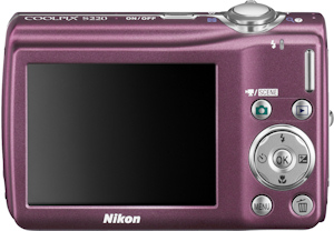 Nikon's Coolpix S220 digital camera. Photo provided by Nikon Inc. Click here for a bigger picture!