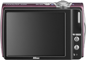 Nikon's Coolpix S230 digital camera. Photo provided by Nikon Inc. Click here for a bigger picture!