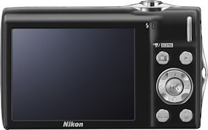 Nikon's Coolpix S3000 digital camera. Photo provided by Nikon Inc. Click for a bigger picture!