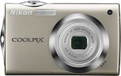 The Nikon Coolpix S4000 digital camera. Photo provided by Nikon Inc. Click for a bigger picture!