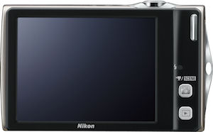 Nikon's Coolpix S4000 digital camera. Photo provided by Nikon Inc. Click for a bigger picture!