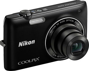 Nikon's Coolpix S4100 digital camera. Photo provided by Nikon Inc. Click for a bigger picture!