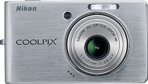 Nikon's Coolpix S500 digital camera. Courtesy of Nikon, with modifications by Michael R. Tomkins.