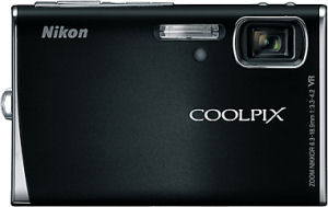Nikon's Coolpix S50 digital camera. Courtesy of Nikon, with modifications by Michael R. Tomkins.