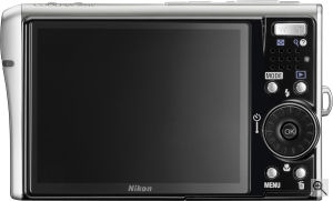 Nikon's Coolpix S51c digital camera. Courtesy of Nikon, with modifications by Michael R. Tomkins. Click for a bigger picture!