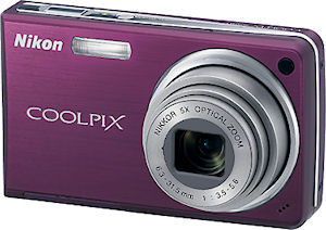 Nikon's Coolpix S550 digital camera. Courtesy of Nikon, with modifications by Michael R. Tomkins.