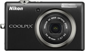 Nikon's Coolpix S570 digital camera. Photo provided by Nikon Inc. Click for a bigger picture!