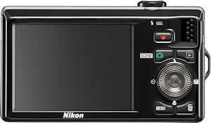 Nikon's Coolpix S6000 digital camera. Photo provided by Nikon Inc. Click for a bigger picture!