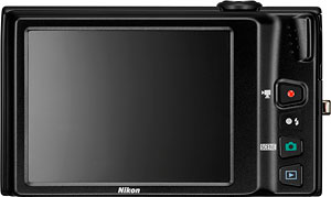 Nikon's Coolpix S6100 digital camera. Photo provided by Nikon Inc. Click for a bigger picture!