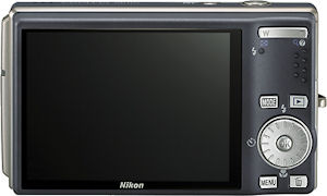 Nikon's Coolpix S610C digital camera. Courtesy of Nikon, with modifications by Michael R. Tomkins.
