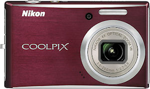 Nikon's Coolpix S610 digital camera. Courtesy of Nikon, with modifications by Michael R. Tomkins.
