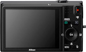 Nikon's Coolpix S6200 digital camera. Photo provided by Nikon Inc. Click for a bigger picture!