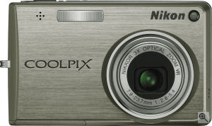 Nikon's Coolpix S700 digital camera. Courtesy of Nikon, with modifications by Michael R. Tomkins. Click for a bigger picture!