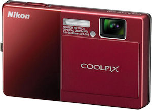 Nikon's Coolpix S70 digital camera. Photo provided by Nikon Inc. Click for a bigger picture!
