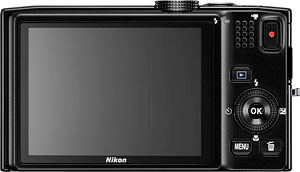 Nikon's Coolpix S8200 digital camera. Photo provided by Nikon Inc. Click for a bigger picture!