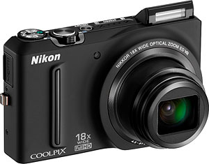 Nikon's Coolpix S9100 digital camera. Photo provided by Nikon Inc. Click for a bigger picture!