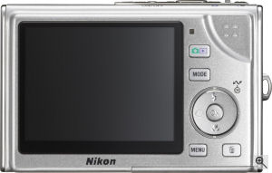 Nikon's Coolpix S9 digital camera. Courtesy of Nikon, with modifications by Michael R. Tomkins. Click for a bigger picture!