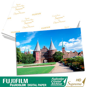 Fujifilm's Crystal Archive Paper Supreme High Definition. Courtesy of Fujifilm, with modifications by Michael R. Tomkins. Click for a bigger picture!