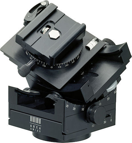 The ARCA-SWISS Cube C1 tripod head. Photo provided by Arca Swiss Inc. Click for a bigger picture!