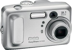 Kodak's EasyShare CX7330 digital camera. Courtesy of Eastman Kodak Co., with modifications by Michael R. Tomkins.