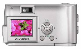 Olympus' Camedia D-230 digital camera. Courtesy of Olympus.