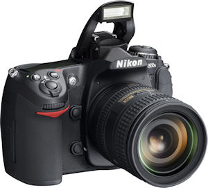 Nikon's D300s digital SLR. Photo provided by Nikon Inc. Click for a bigger picture!