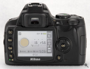 Nikon's D40 digital SLR. Copyright © 2006, The Imaging Resource. All rights reserved. Click for a bigger picture!