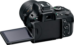 Nikon's D5100 digital SLR. Photo provided by Nikon Inc. Click for a bigger picture!