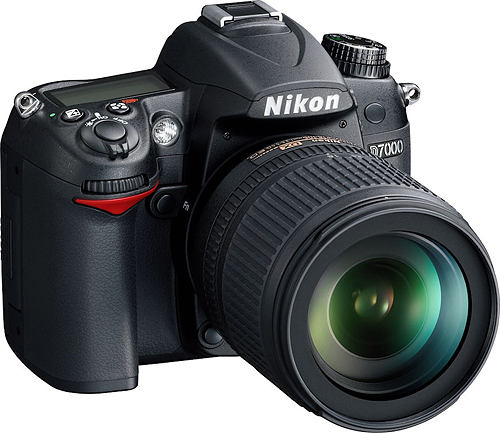 Nikon's D7000 digital SLR. Photo provided by Nikon Inc. Click for a bigger picture!