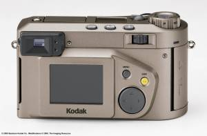 Kodak's new DC4800 Zoom digital camera, rear view - click for a bigger picture!