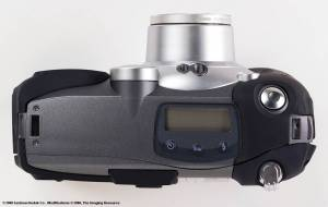 Kodak's new DC5000 Zoom digital camera, top view - click for a bigger picture!