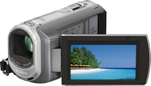Sony DCR-SX60 digital camcorder. Photo provided by Sony Electronics. Click for a bigger picture!
