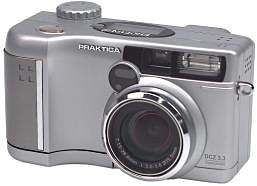 Praktica's DCZ 3.3 digital camera. Courtesy of Pentacon Dresden.