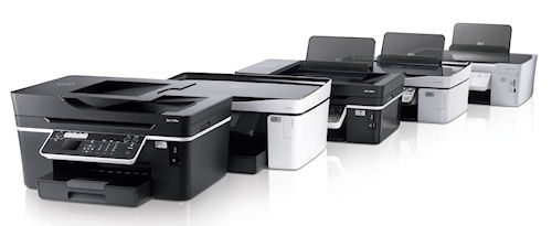 The newest members of the Dell inkjet printer family sport fresh designs and include a valuable energy saving Eco-mode. Photo and caption provided by Dell Inc. / BusinessWire. Click for a bigger picture!