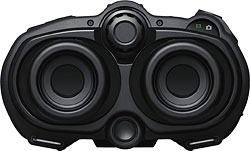 Rear view of the Sony DEV-3 / DEV-5 binoculars. Photo provided by Sony Electronics Inc. Click for a bigger picture!