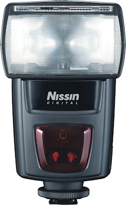 Nissin Di622 Mark II flash strobe. Photo provided by Nissin Japan Ltd. Click for a bigger picture!
