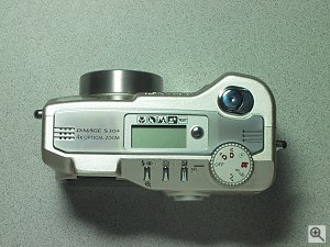 Minolta's Dimage S304 digital camera. Copyright (c) 2001, Michael R. Tomkins, all rights reserved. Click for a bigger picture!