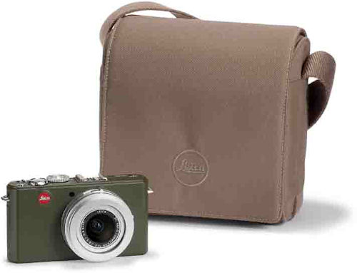 Leica's D-Lux 4 Safari edition. Photo provided by Leica Camera AG.