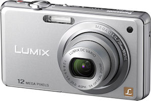 Panasonic's Lumix DMC-FH1 digital camera. Photo provided by Panasonic Consumer Electronics Co. Click for a bigger picture!