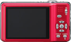 Panasonic's Lumix DMC-FH20 digital camera. Photo provided by Panasonic Consumer Electronics Co. Click for a bigger picture!