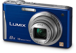 Panasonic's Lumix DMC-FH27 digital camera. Photo provided by Panasonic Consumer Electronics Co. Click for a bigger picture!