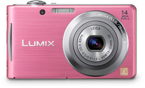 Panasonic's Lumix DMC-FH2 digital camera. Photo provided by Panasonic Consumer Electronics Co. Click for a bigger picture!