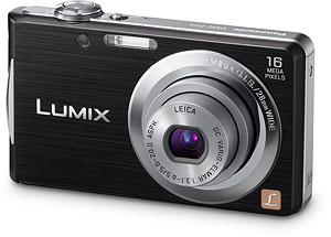 Panasonic's Lumix DMC-FH5 digital camera. Photo provided by Panasonic Consumer Electronics Co. Click for a bigger picture!