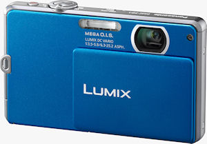 Panasonic's Lumix DMC-FP1 digital camera. Photo provided by Panasonic Consumer Electronics Co. Click for a bigger picture!