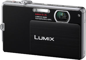 Panasonic's Lumix DMC-FP3 digital camera. Photo provided by Panasonic Consumer Electronics Co. Click for a bigger picture!