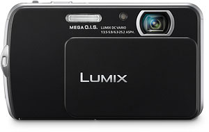 Panasonic's Lumix DMC-FP5 digital camera. Photo provided by Panasonic Consumer Electronics Co. Click for a bigger picture!