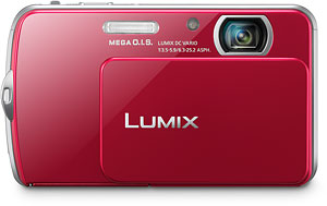 Panasonic's Lumix DMC-FP7 digital camera. Photo provided by Panasonic Consumer Electronics Co. Click for a bigger picture!