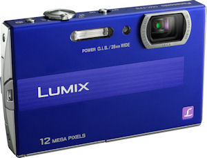 Panasonic's Lumix DMC-FP8 digital camera. Photo provided by Panasonic Consumer Electronics Co. Click for a bigger picture!
